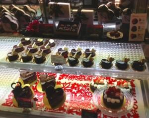 2014天神地下街店バレンタイン