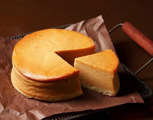 塩キャラメルのフレッシュチーズケーキ